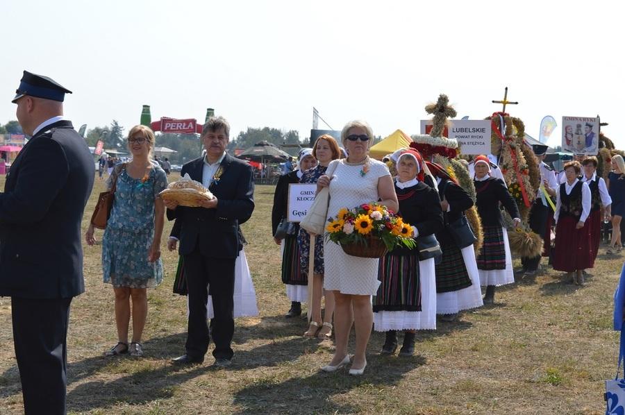 Dwa wieńce z Powiatu Ryckiego na podium wojewódzkiego konkursu dożynkowego
