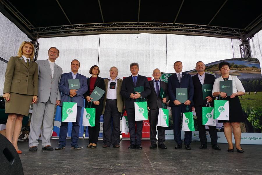 """Starosta Rycki odznaczony Medalem Honorowym """"Przyjaciel Lubelskich Parków Krajobrazowych"""""""