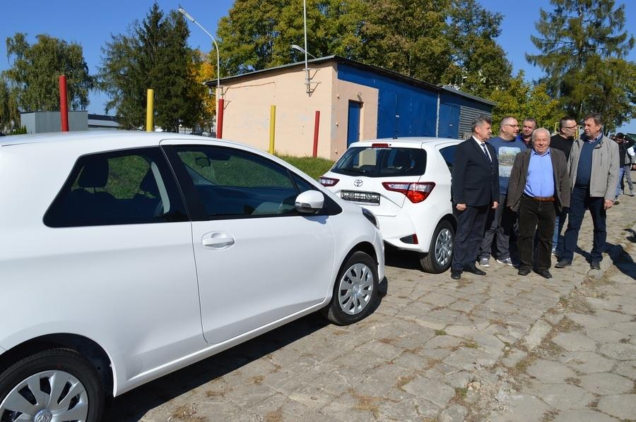 Powiat rycki zakupił cztery samochody osobowe dla ZSZ nr 1 w Rykach