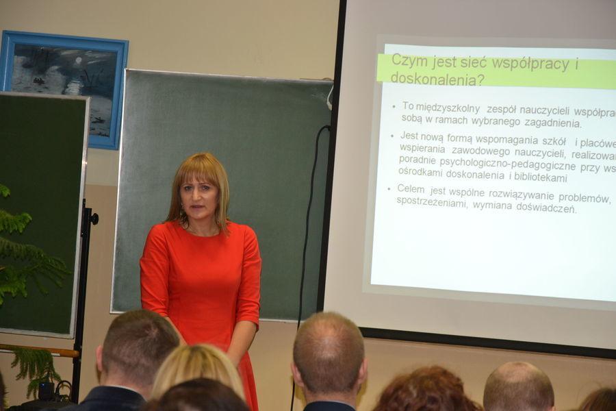Konferencja podsumowująca współpracę nauczycieli z Poradni Psychologiczno-Pedagogicznej w Rykach