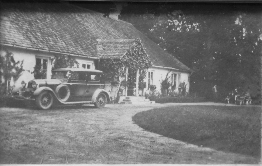 DWÓR W OSMALICACH NAD WIEPRZEM PRZED 1939
