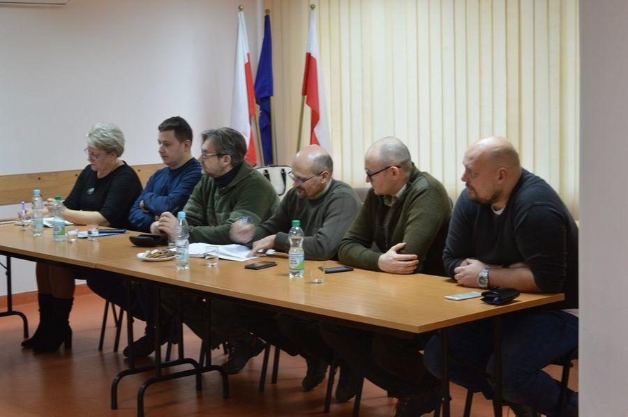 Spotkanie w sprawie poszukiwania padłych dzików