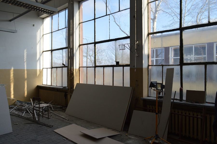 Remonty pomieszczeń pracowni praktycznych w ZSZ nr 1 w Dęblinie