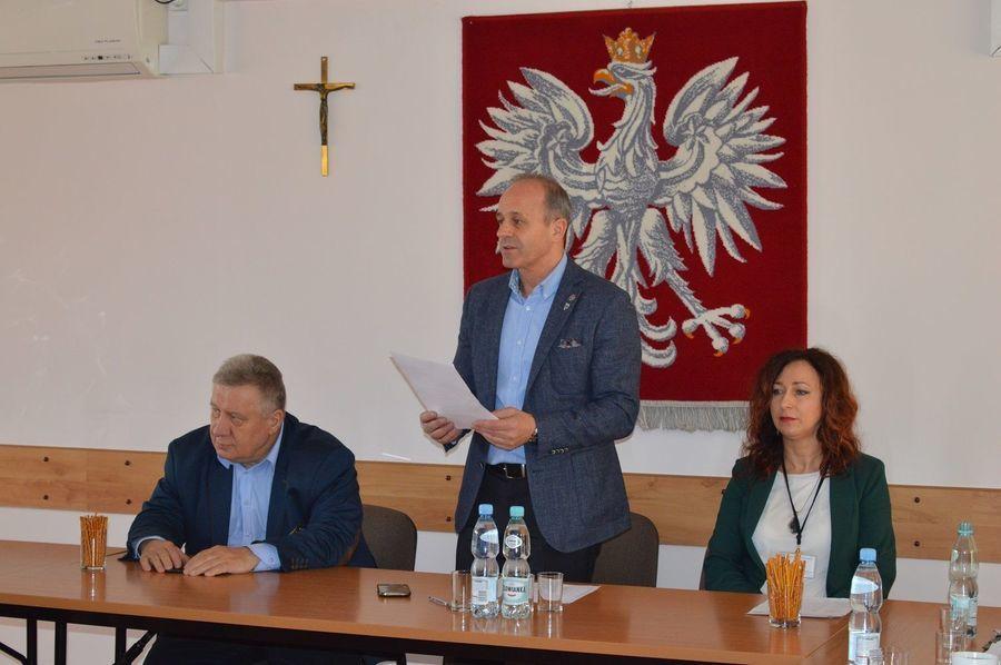 Spotkanie z 12. Brygadą Zmechanizowaną ze Szczecina w sprawie bezpieczeństwa mieszkańców Powiatu Ryckiego