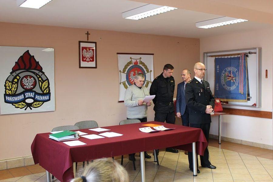 Eliminacje powiatowe Ogólnopolskiego Turnieju Wiedzy Pożarniczej w Rykach