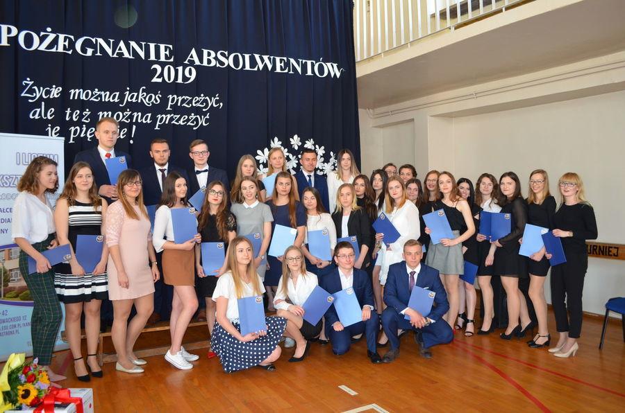 Zakończenie roku maturzystów w I LO