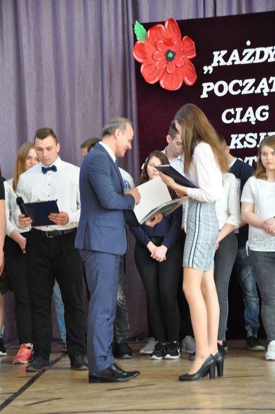 Pożegnanie maturzystów - ZSZ nr 2 Dęblin