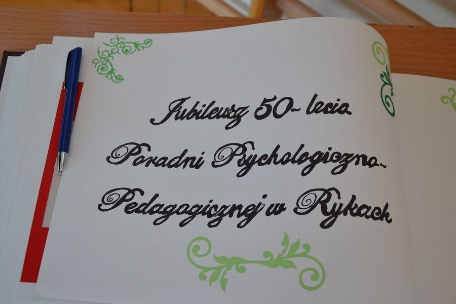 50-lecie istnienia Poradni Psychologiczno-Pedagogicznej w Rykach