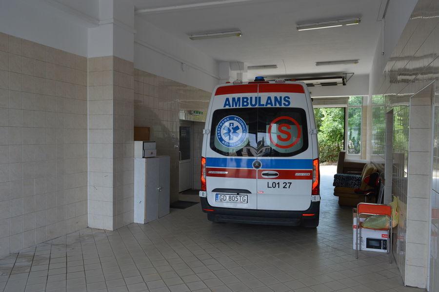 Karetka pogotowia powróciła do Szpitala Powiatowego w Rykach