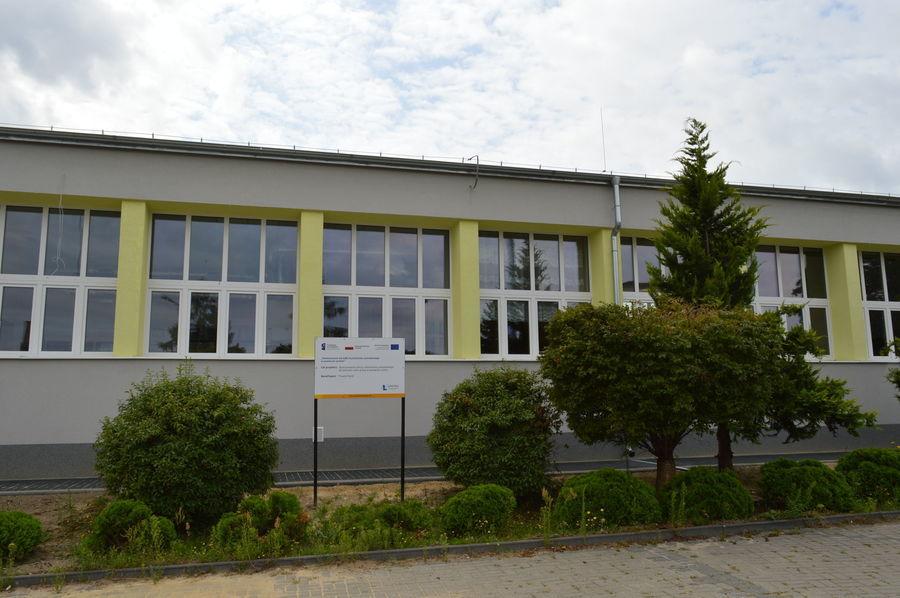 Odbiór budynku warsztatów segment I przy ZSZ Nr 1 w Rykach
