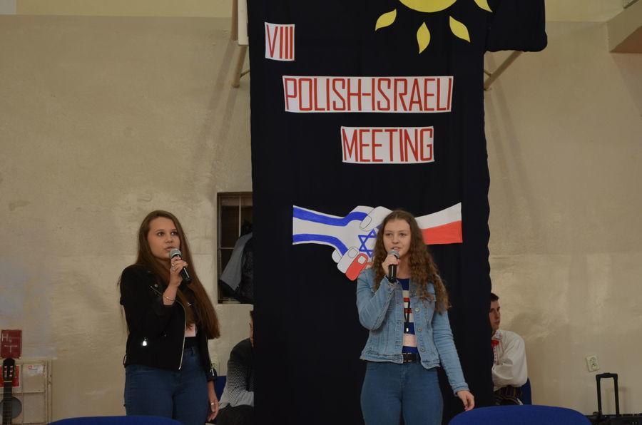VIII spotkanie POLSKO – IZRAELSKIE w I LO w Rykach
