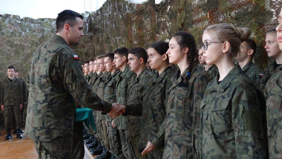 Ślubowanie klas mundurowych
