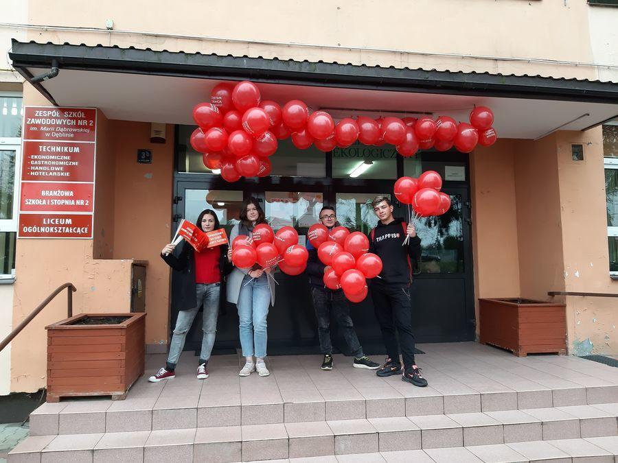Akcja rejestracyjna Dawców Szpiku w ZSZ nr 2 w Dęblinie