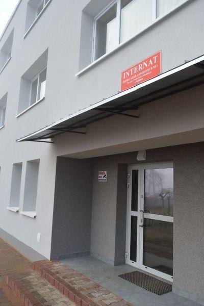 Odbiór budynku internatu przy Zespole Szkół Zawodowych Nr 1 w Dęblinie