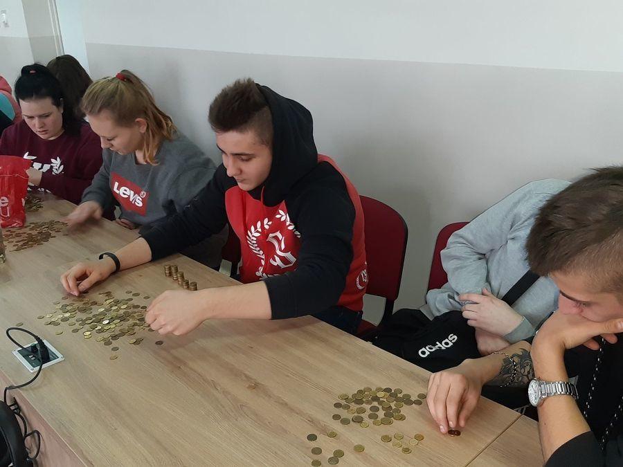 """""""Góra Grosza"""" w ZSZ nr 2 w Dęblinie"""