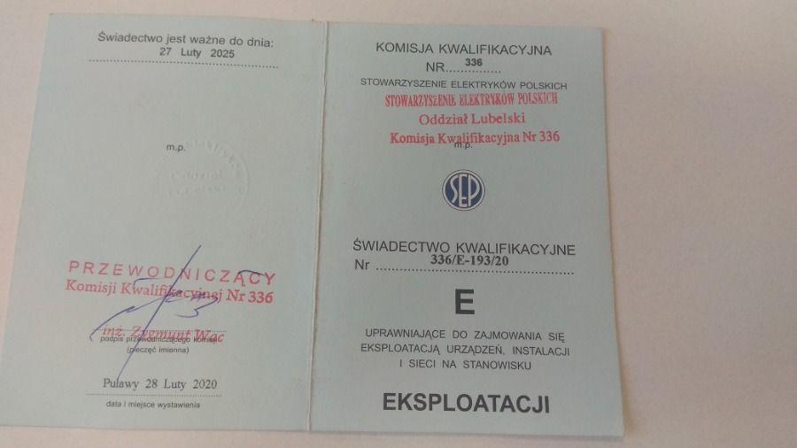 Państwowy egzamin SEP