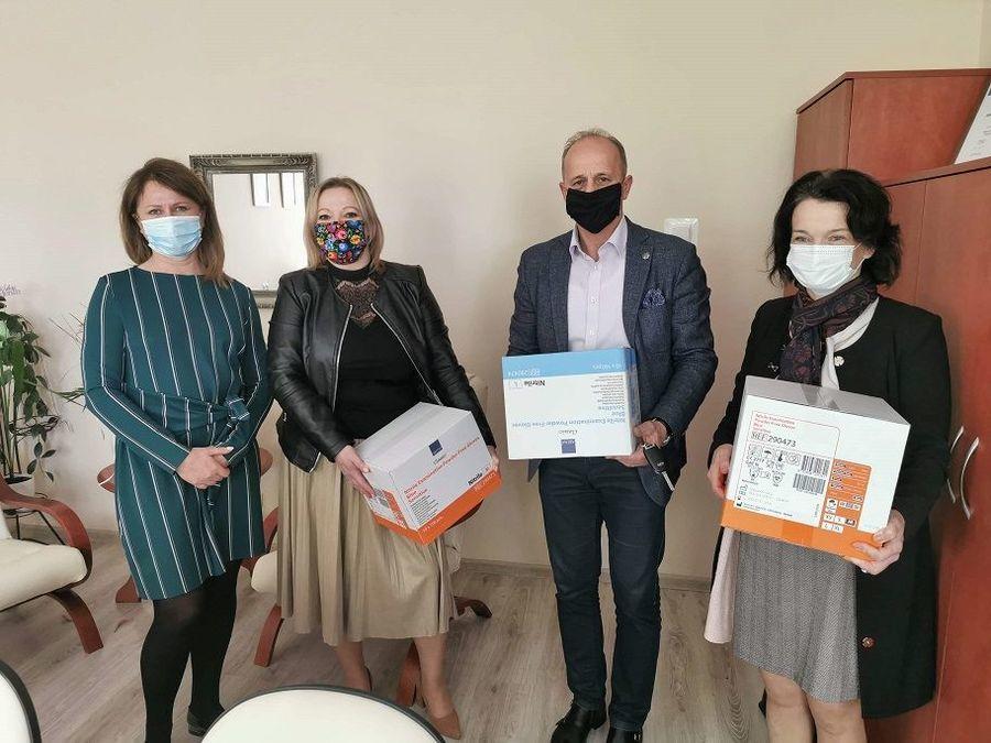 Samorząd Powiatowy w walce z pandemią