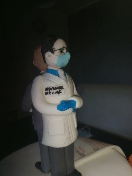 Słodki prezent dla pracowników Szpitala Powiatowego w Rykach
