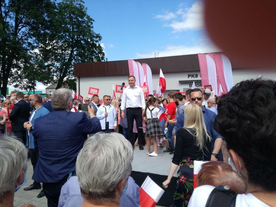 Prezydent RP Andrzej Duda odwiedził Ryki