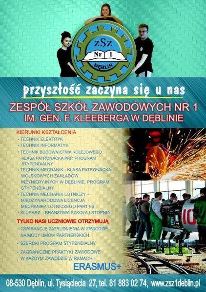 Plakat - ZSZ Nr 2 Dęblin