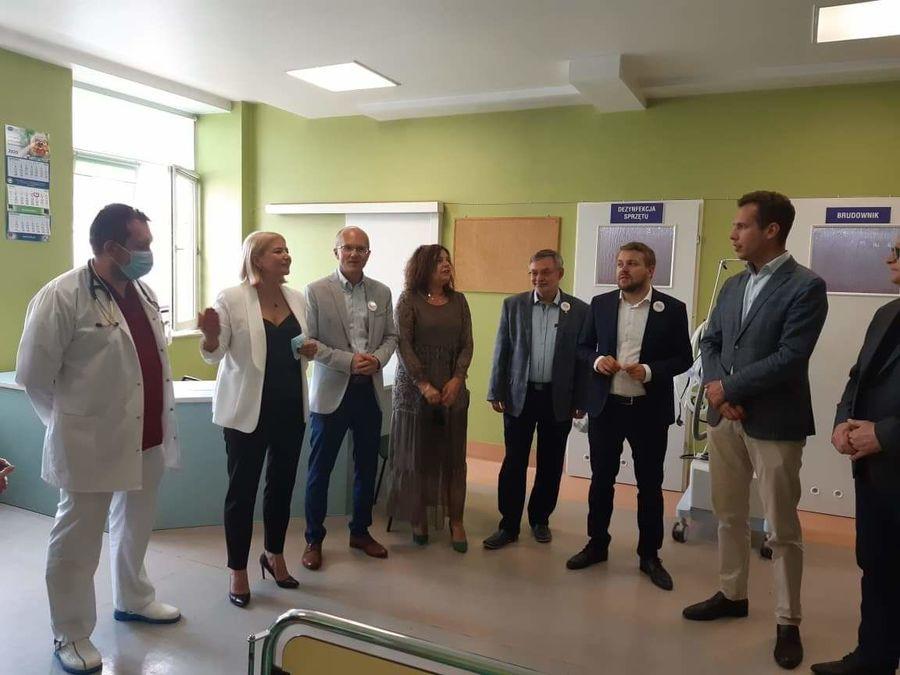 Nowy respirator dla Szpitala Powiatowego w Rykach