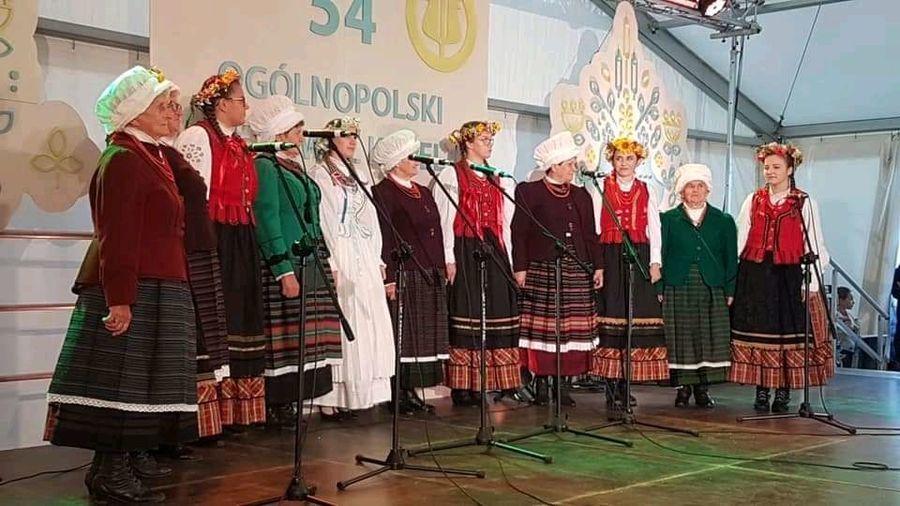 """""""Pelagia"""" na podium Ogólnopolskiego Festiwalu Kapel i Śpiewaków Ludowych"""