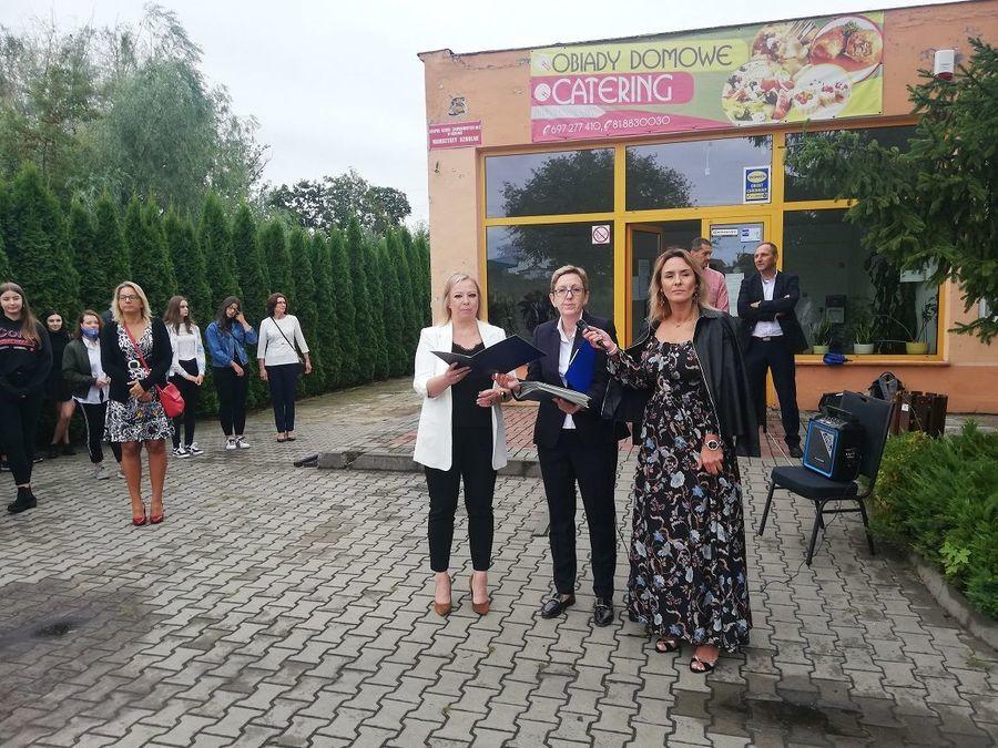Rozpoczęcie roku w Zespole Szkół Zawodowych nr 2 w Dęblinie