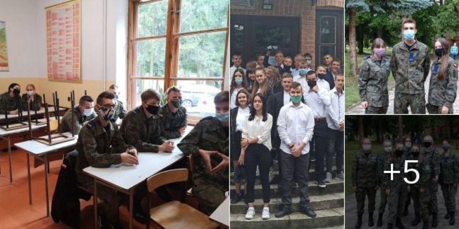 Rozpoczęcie roku w Zespole Szkół w Sobieszynie