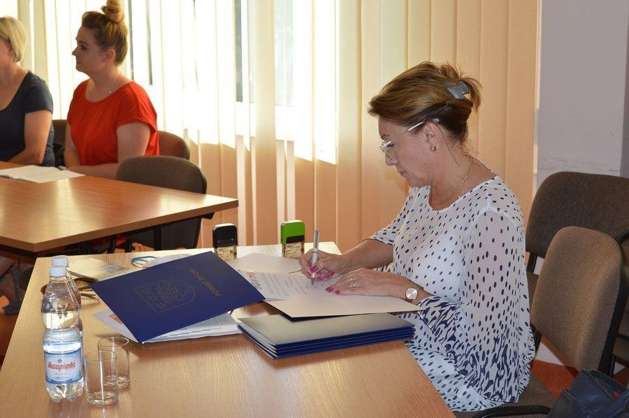 Za zdjęciu podpisanie partnerstwa