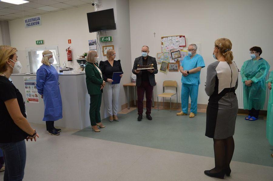 Pierwsza Rocznica Funkcjonowania Szpitala Powiatowego w Rykach
