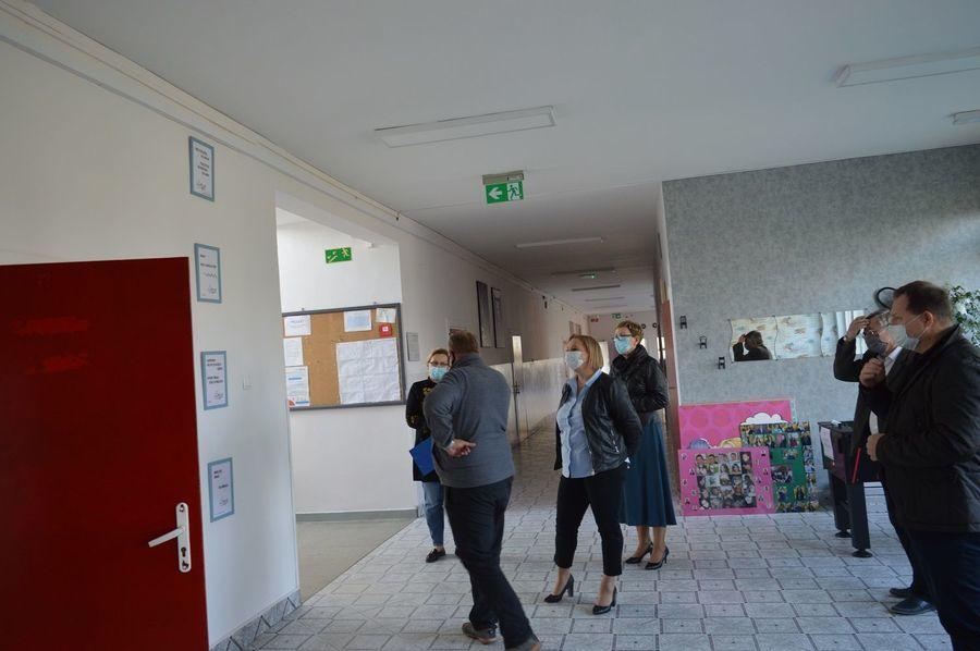 """""""Odbiór w Zespole Szkół Zawodowych Nr 2 im. M. Dąbrowskiej w Dęblinie""""."""