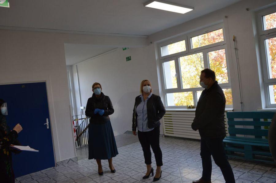 Odbiór w Zespole Szkół Zawodowych Nr 2 im. M. Dąbrowskiej w Dęblinie