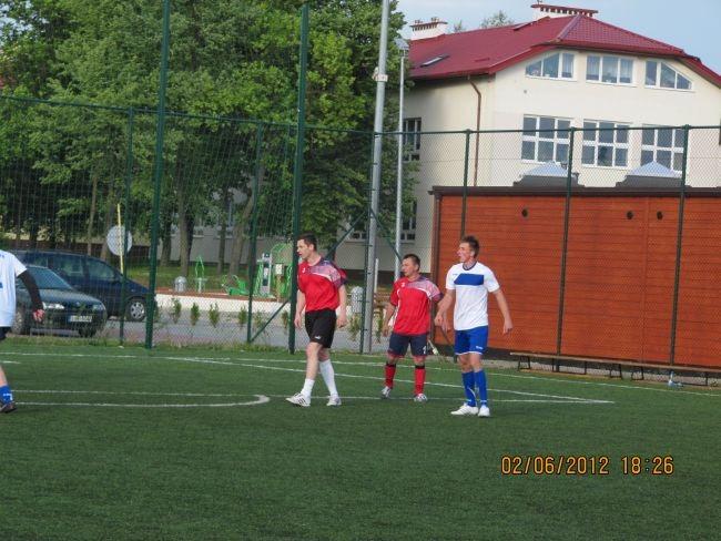 Mecz samorządowy 2012