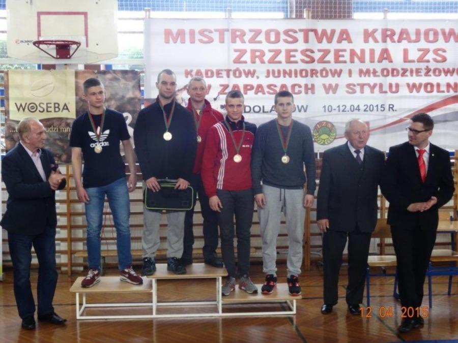 Mistrzostwa Polski LZS w zapasach styl wolny kadetów-juniorów i młodzieżowców