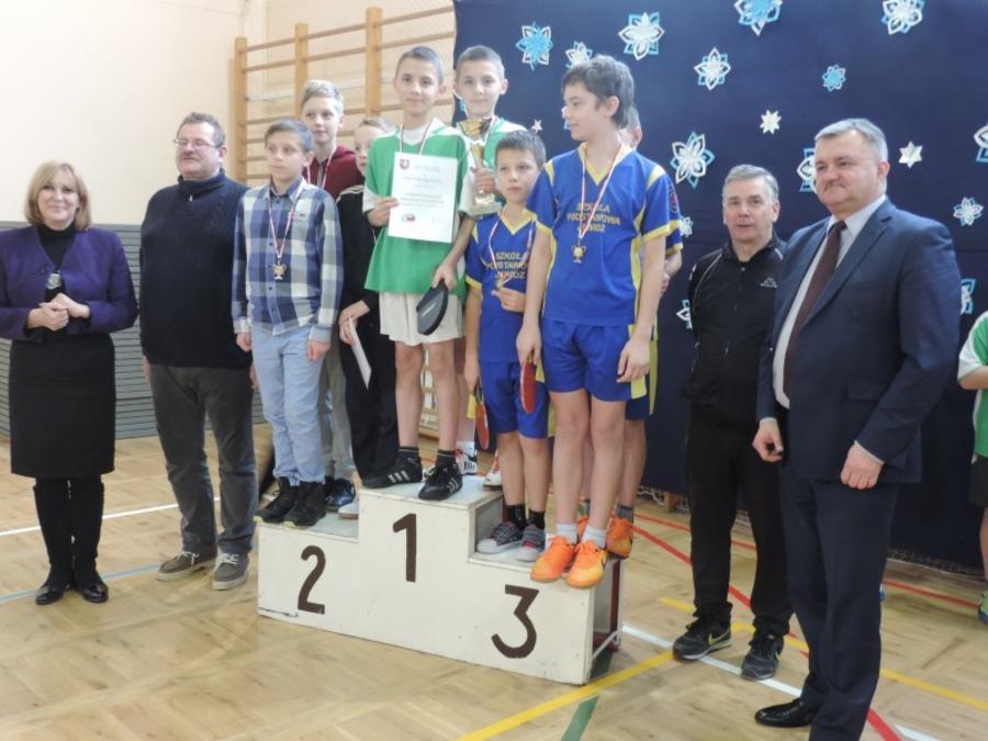 Igrzyska Powiatowe w Tenisie Stołowym