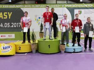"""Trzy medale zawodników """"ISKRY"""" Spiczyn na Ogólnopolskiej Olimpiadzie Młodzieży w Dżonkowie"""