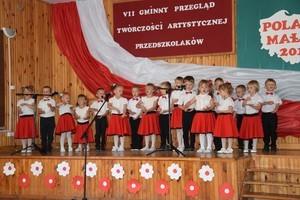 """VII Gminny Przegląd Twórczości Artystycznej Przedszkolaków """"Polak Mały"""""""