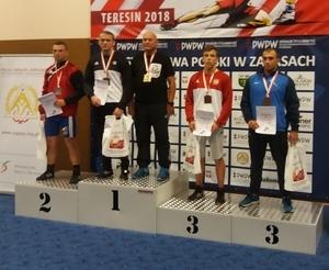 """Dwa medale zapaśników """"ISKRY"""" Spiczyn na Mistrzostwach Polski Seniorów"""