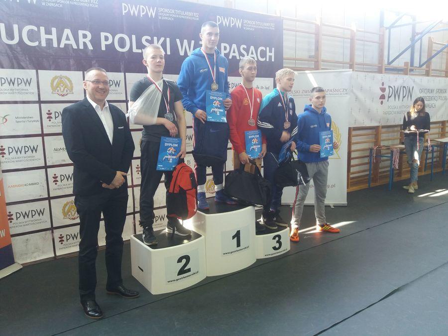 """Dwa srebrne medale dla """"ISKRY"""" Spiczyn"""