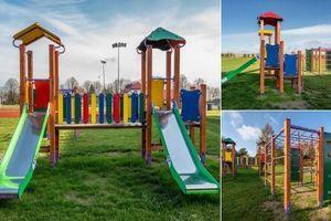 Nowy plac dla uczniów Szkoły Podstawowej w Jawidzu