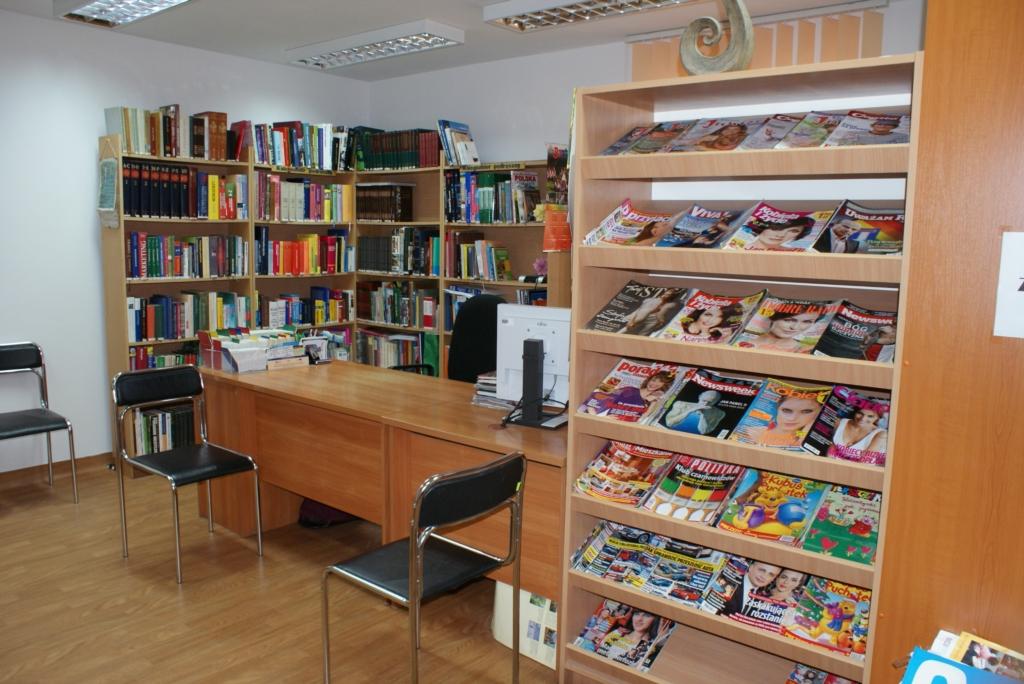 nowa biblioteka wystrój i wystawy