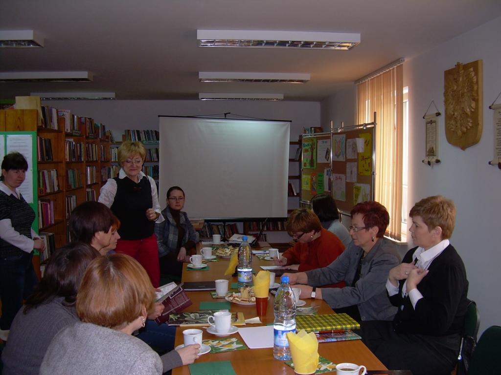 szkolenie Dyrektorów Biblioteka Powiatu Puławskiego