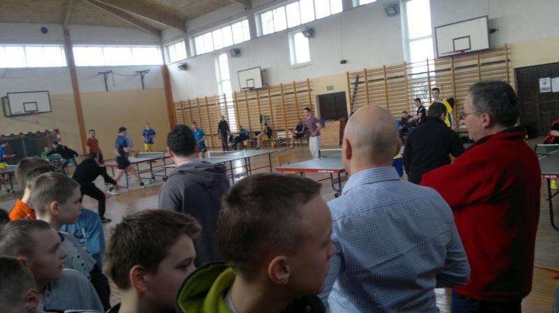 I Turniej Tenisa Stołowego
