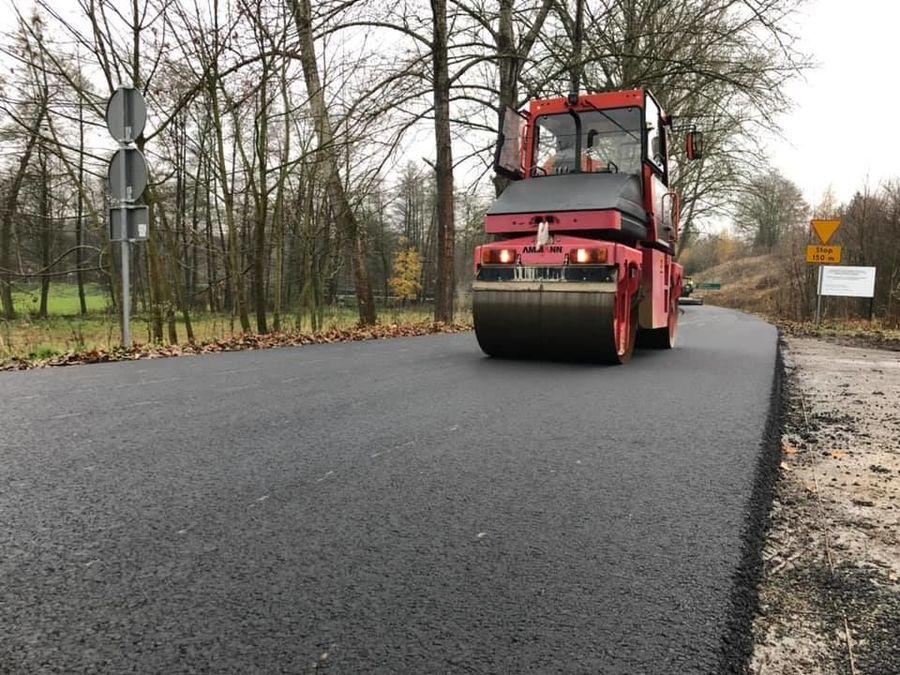 Przebudowa drogi gminnej w miejscowości Zarzeka - Etap II