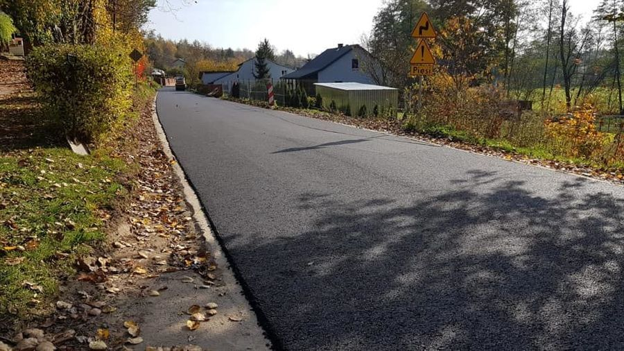Remont drogi Zarzeka - II Etap