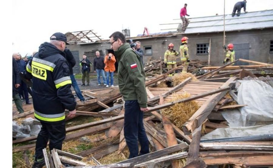 Tornado w Wojciechowie
