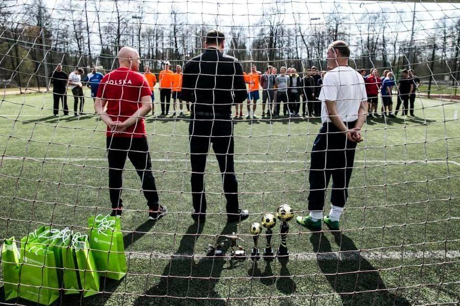 I Międzygminny Strażacki Turniej Piłki Nożnej. Puchar Burmistrza Nałęczowa
