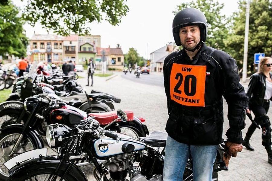 Rajd Motocykli Zabytkowych – Wąwolnica 2018