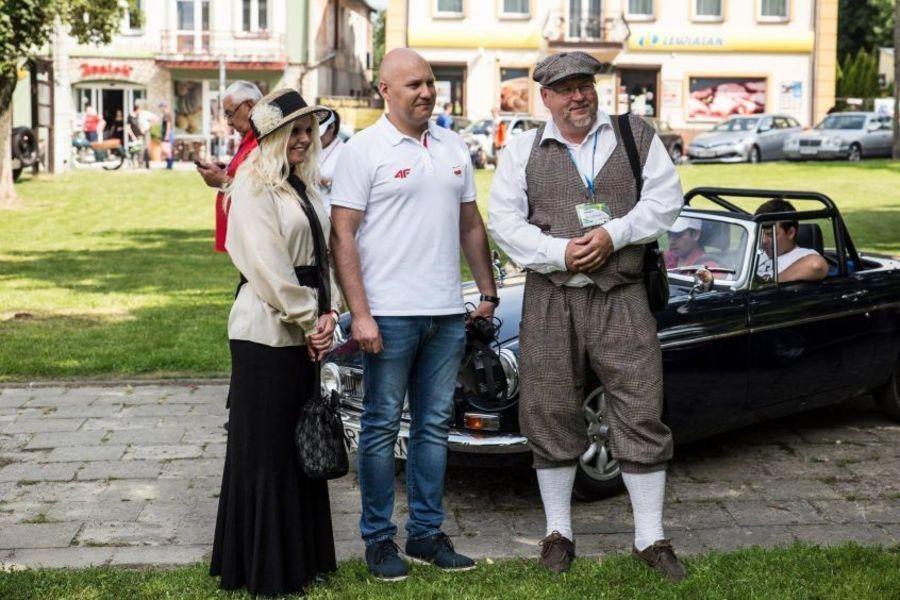 Mistrzostwa Polski Pojazdów Zabytkowych - Wąwolnica 2018
