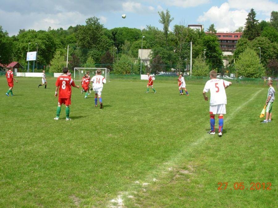 Małe EURO - mecz w Nałęczowie
